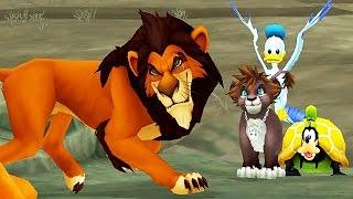 Download Kingdom Hearts 2: Scar Boss Fight (PS3 1080p) Video