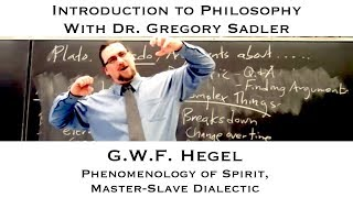 Download Georg W.F. Hegel, Self-Consciousness and Master-Slave Dialectic - Introduction to Philosophy Video