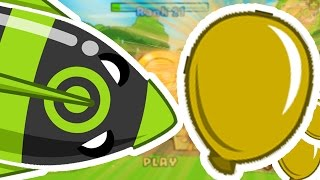 Download BLOONS TOWER DEFENSE 5 - THE GOLDEN BLOON CHALLENGE! Video