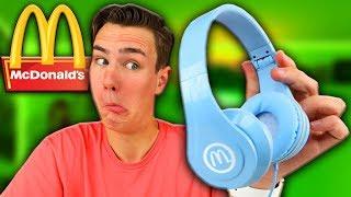 Download McDonalds Made $1 Headphones? Video