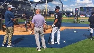 Download Yankees' Tyler Wade takes BP Video