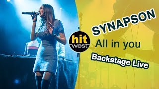 Download SYNAPSON - All in you (Hit West - Backstage Live - Rennes 2016) Video