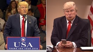 Download Alec Baldwin: I'll Only Stop Imitating Donald Trump If He Releases Tax Returns Video