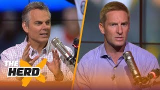Download Joel Klatt questions Oklahoma's conservative play calls in key parts of the Rose Bowl | THE HERD Video