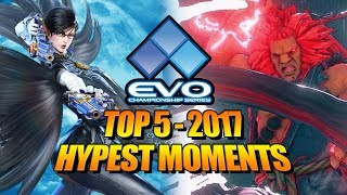 Download EVOLUTION 2017 - Top 5 Hype Moments (Fighting Game World Championship) Video