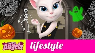 Download Talking Angela - Five Things I Like About Halloween Video