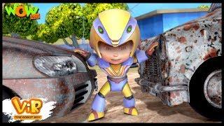 Download Car Thief | Vir: The Robot Boy WITH ENGLISH, SPANISH & FRENCH SUBTITLES | WowKidz Video