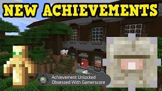 Download Minecraft Xbox TU54 Survival: ALL NEW ACHIEVEMENTS Video