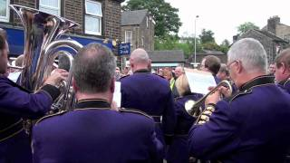 Download Brighouse and Rastrick Band - Hymn Tune at Greenfield for Alan Chamberlain Video