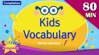 Download Kids vocabulary compilation - Words Theme collection|English educational video for kids Video