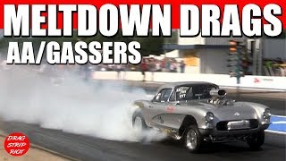 Download 2017 Meltdown Drags ScottRods AA Gassers Drag Racing Cars Video Video