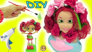 Download DIY Do It Yourself Craft Big Inspired Shopkins Shoppies Doll From Disney Little Mermaid Style Head Video