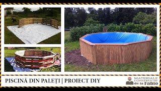 Download Cum sa construiesti o piscina din paleti. Proiect DIY de la Fabio Video
