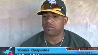 Download TV Martí Noticias — El pelotero Yoenis Céspedes desea jugar con el equipo cubano Video