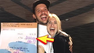 Download SURPRISING WAITRESS WITH $1,000 TIP!! Video