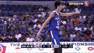 Download KAI SOTTO HIGHLIGHTS | THAILAND vs PHILIPPINES | 2017 SEABA U16 | Video