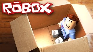 Download MAILING MYSELF IN A BOX CHALLENGE IN ROBLOX Video