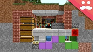 Download How to make a MICRO BUNKER in Minecraft! Video