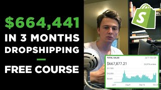 Download [Free Course] Dropshipping in 2019 | $664,441 in 3 Months With ONE Product Video