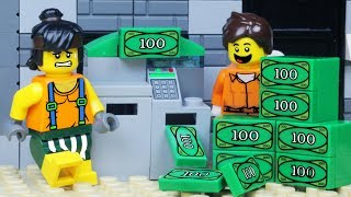Download LEGO City ATM BANK ROBBERY - Lego Police Chase Video