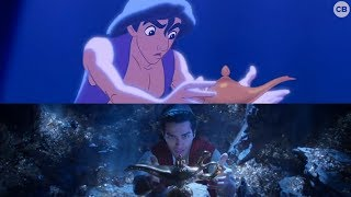 Download NEW 'Aladdin' Teaser vs. Original - Side by Side Comparison Video