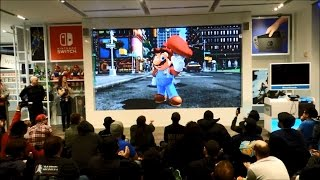 Download Nintendo Switch Presentation 2017 Live Reactions at Nintendo NY Video