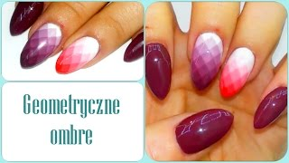 Download Geometryczne Ombre Nail Art | AsiaNail Video