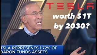 Download Ron Baron: Tesla Worth $1T By 2030 💫📈💸 Video