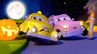 Download The Baby Cars are Talking to a GHOST! Cars and Trucks Babies of Car City Cartoon for kids Video