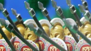 Download 279 B.C. Lego Battle of Asculum, Greek Pyrrhic Victory over Rome Video