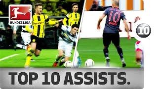 Download Best Assists of 2016/17 So Far - Robben, Reus, Dembélé and More Video