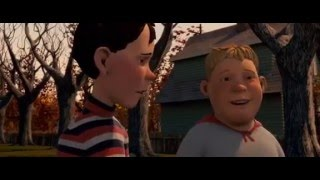 Download Monster house - Nebbercracker attack scene Video