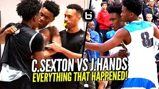 Download Collin Sexton vs Jaylen Hands HEATED Battle! How It Really Started & What The Crowd Did!! Video