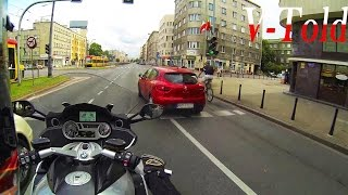 Download A true prick move - onboard BMW K 1600 GTL Video