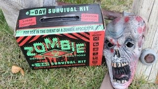 Download Zombie 3-Day Survival Kit Review (2017 Warning) Video