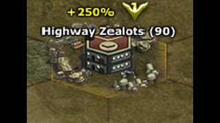 Download War Commander, Highway Zealot 90 medals base. No Omega units used 21 minutes repair. Video