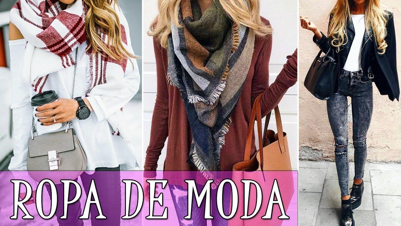 Stream ropa de moda oto o invierno 2017 2018 ropa oto o for Moda de otono 2017