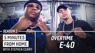 Download E-40 Tells Stephen Curry How He Came Up With the Sluricane | 5 Minutes from Home Overtime Video