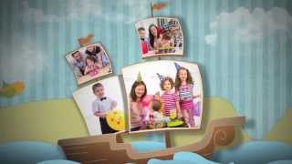 Download Happy Birthday Baby Photo Album - Boy Version - After Effects Royalty Free Template Video
