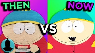 Download South Park - Then VS. Now - Evolution of South Park (Tooned Up S3 E33) Video