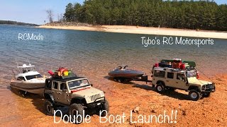 Download **RC Boat Launch/DOUBLE with RCMods***Tybo's RC Motorsports** Pure RC 4x4 Video