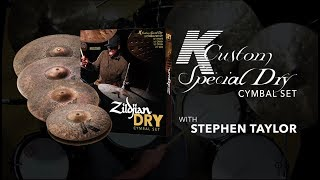 Download K Custom Special Dry Cymbal Set Overview with Stephen Taylor Video