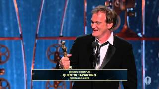 Download Quentin Tarantino Wins Original Screenplay: 2013 Oscars Video