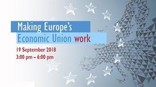 Download Making Europe's Economic Union work Video