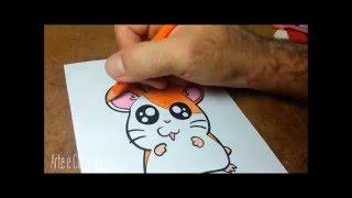 Download Como desenhar o Hamtaro passo a passo - How to draw Hamtaro Video