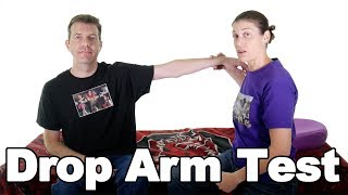 Download Drop Arm Test for a Supraspinatus Tear - Ask Doctor Jo Video