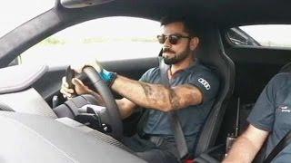 Download Audi R8 V10 Plus with Virat Kohli Video