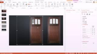 Download สาธิตการทำอนิเมชั่น PowerPoint ในการเปิดบานประตู Open Sesame Video