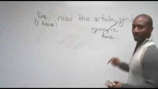 Download English Grammar - Past Simple & Present Perfect Video