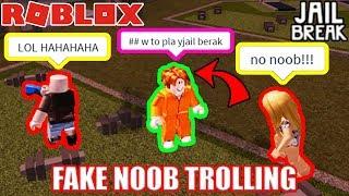 Download FAKE NOOB Trolling in Roblox Jailbreak Video